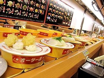 スシロー 回転寿司