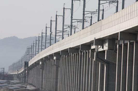 九州新幹線 船小屋駅付近高架 (51) のコピー