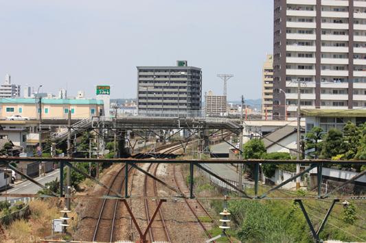 大牟田駅南カーブ (1) のコピー