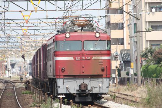 10-9-30 5057レ白金陸橋下 (17) のコピー