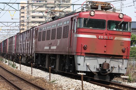 10-9-30 5057レ白金陸橋下 (21) のコピー