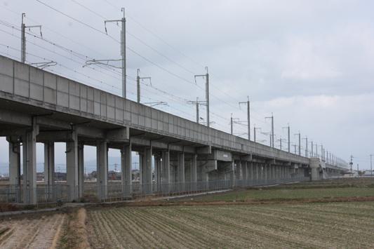 110116新幹線試・高架 (21) のコピー