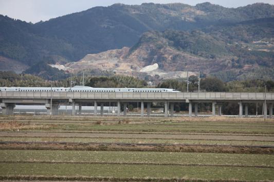 110116新幹線試・高架 (13) のコピー