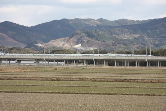 110116新幹線試・高架 (14) のコピー