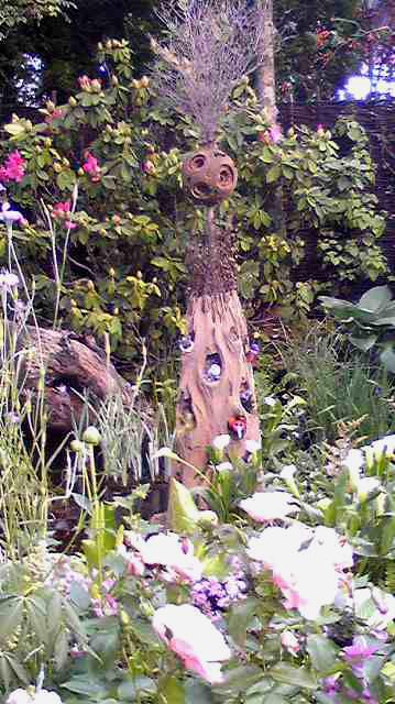 精霊の住む庭
