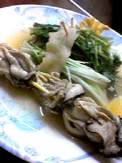 花くじら後牡蠣