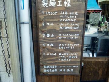 周月製麺工程