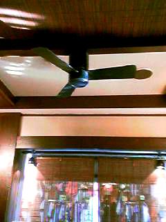 そばよし天井扇