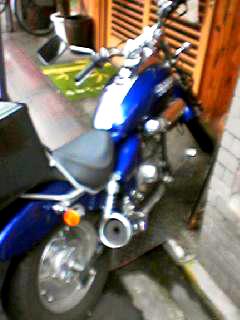 宗八バイク