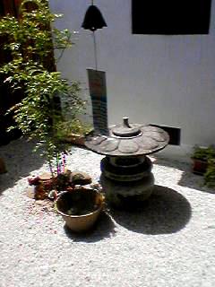 かえるCafe庭