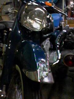 あさひ食堂バイク