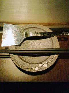 檜菜セッティング