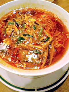 湖陽樹酸ラータン麺