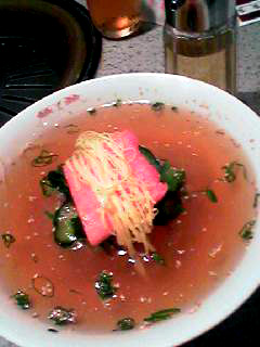 食道園2冷麺