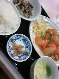 景華園定食