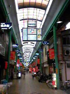 コモンカフェ商店街