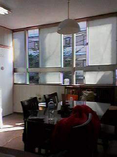 ハナヤ食堂窓