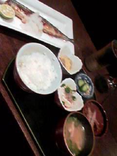 茶谷2定食
