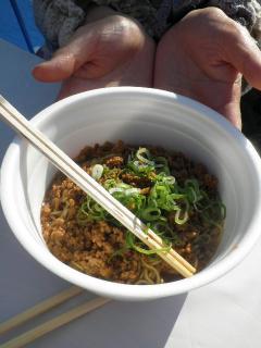 華友祭ジャージャー麺