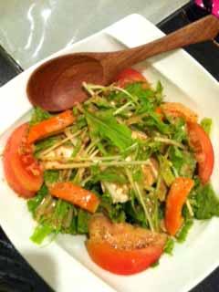 0814豆腐サラダ