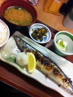 0920サンマ定食