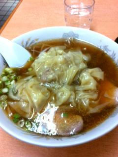 1011ワンタン麺
