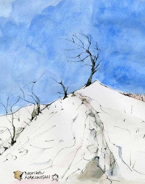 雪の稜線_S
