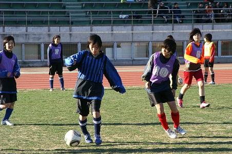 110110女子サッカー教室 046