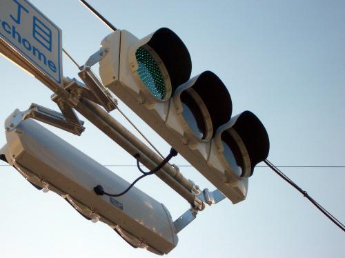 LED信号機2