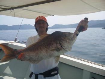 72cmの大鯛捕獲!!