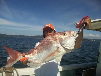 5枚目73cm真鯛