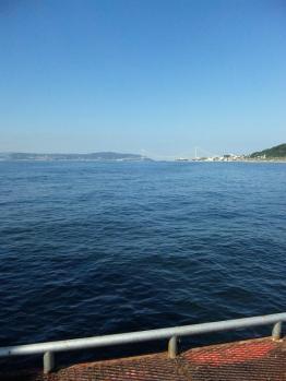 明石海峡大橋を望む!