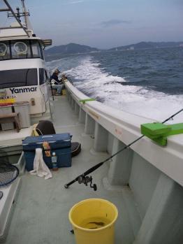 いざ、南の漁場へ・・・