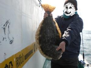 72cmヒラメ
