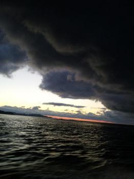 ヤバイ雲!