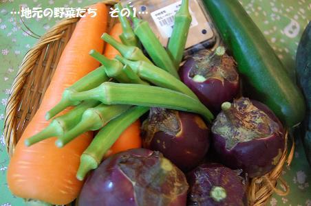 地元の野菜たち その1