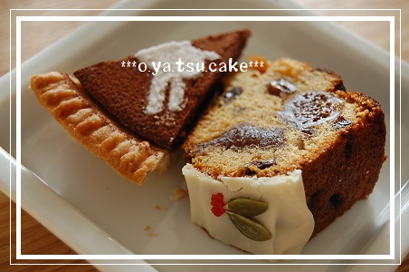2010 12月自宅レッスン おやつケーキ
