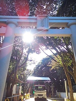2013-11-16 猿田神社本宮建設中