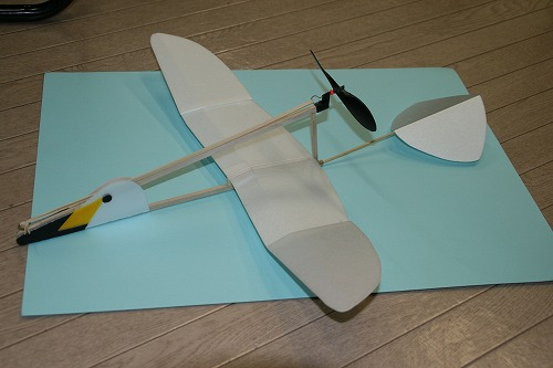 オオハクチョウ型飛行器110216
