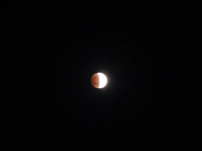 今夜の皆既月食