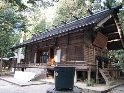 赤城神社拝殿