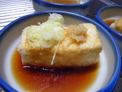 揚げだし豆腐3