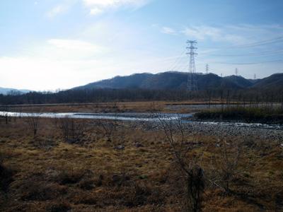 渡良瀬 桐生川合流点