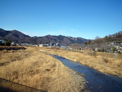 幸橋から桐生川