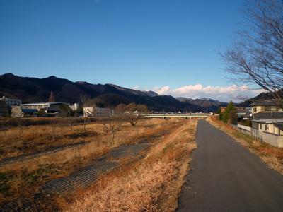 桐生川遊歩道