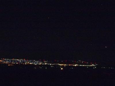 前橋北部と木星とオリオン座