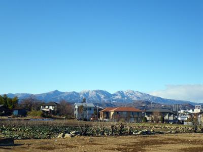 午後の赤城山