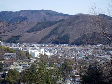 桐生新町方面