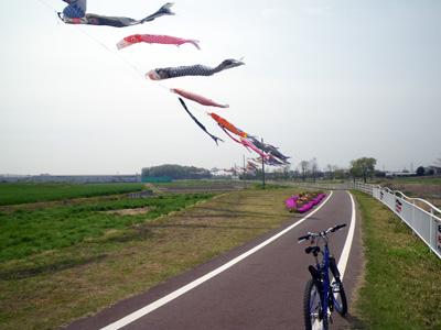 粕川サイクリングロード
