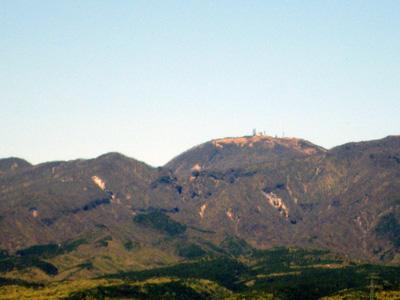 地蔵岳と銚子の伽藍